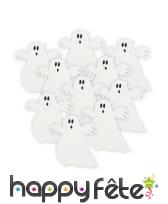 Fantôme blancs décoratifs de table