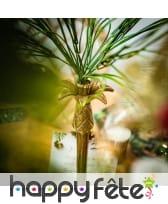 Faux bouquet d'herbes vertes de 50cm, image 1