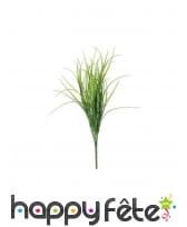 Faux bouquet d'herbes vertes de 50cm