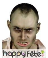 Faux dentier de zombie pour adulte