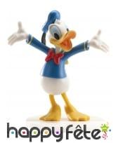 Figurine de Donald pour gâteau 7,5cm