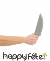 Faux grand couteau de cuisine en plastique, image 1