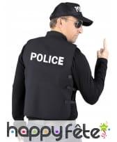 Faux gilet pare-balles de policier, image 1