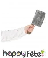 Faux hachoir de boucher en mousse 28cm, image 2
