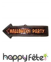 Flèche Halloween Party de 57cm
