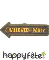 Flèche halloween party