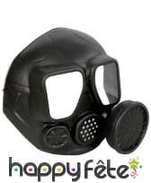 Faux masque à gaz avec cartouche