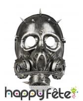 Faux masque à gaz de style Steampunk pour adulte, image 1