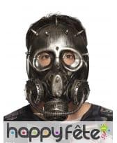 Faux masque à gaz de style Steampunk pour adulte