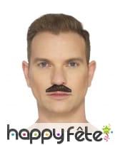 Fausse moustache chevron, image 3
