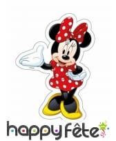 Feuille Minnie Mouse en asyme de 18 x 25,2cm