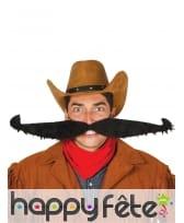 Fausse moustache noire géante de 55cm