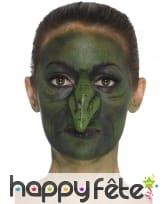 Faux nez vert de sorcière en latex, image 3