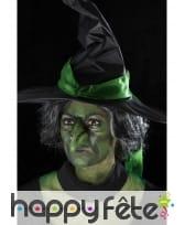 Faux nez vert de sorcière en latex, image 5