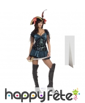 Femme pirate sexy taille réelle en carton
