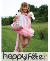 Flamant rose sur bretelles pour enfant, image 1