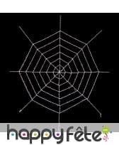 Fausse toile d'araignée géante de 3,6m