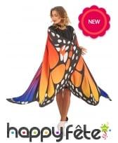 Grandes ailes de papillon pour adulte, image 2