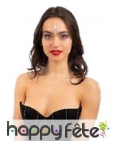 Gemmes adhésives phosphorescentes pour visage