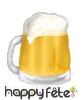 Grand ballon en forme de bière