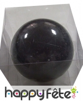 grosse boule noire de noel brillante de 20cm. Black Bedroom Furniture Sets. Home Design Ideas