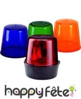 gyrophare bleu orange rouge et vert. Black Bedroom Furniture Sets. Home Design Ideas