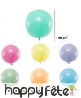 Grand ballon rond de 60 cm