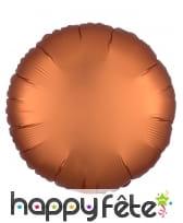 Grand ballon rond en alu couleur unie de 43 cm, image 2