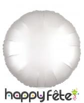 Grand ballon rond en alu couleur unie de 43 cm, image 5