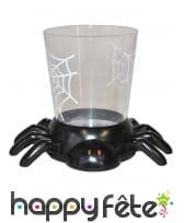 Gobelet déco araignée 7cm