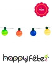 Guirlande d'ampoules lumineuses colorées, 1,4m, image 1