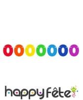Guirlande de chiffres colorés de 6 m, image 10