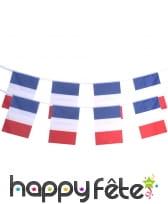Guirlande de drapeaux francais, 4,5m