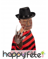 Gant de Freddy Krueger pour adulte