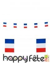 Guirlande drapeaux France de 6m