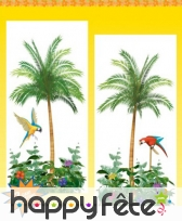 Grandes décorations murales décors palmiers