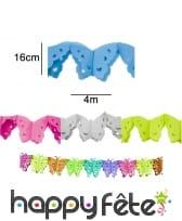 Guirlande de papillons en papier