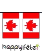 """Guirlande de pavillons """"Canada"""""""
