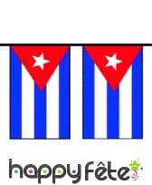 "Guirlande de pavillons ""Cuba"""
