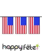 "Guirlande de pavillons ""USA"""