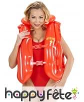 Gilet de sauvetage lifeguard gonflable pour adulte, image 1
