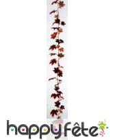 Guirlande feuilles d'érable canadien de 180 cm