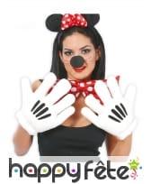Gants géants de souris pour adulte