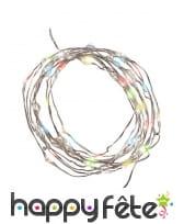 Guirlande LED multicolore de 300 cm