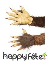 Gants mains de Krampus le démon