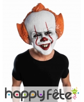 Grand masque facial du clown Ca pour adulte