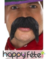Grosses moustaches mexicaine auto adhesive