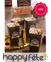 Gobelets ou cornets à popcorn Hollywood, image 1