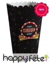 Gobelets ou cornets à popcorn Hollywood, image 2