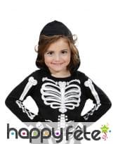 Gants os imprimé crâne taille enfant, image 1